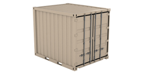Used 10 Ft Container in Lamesa